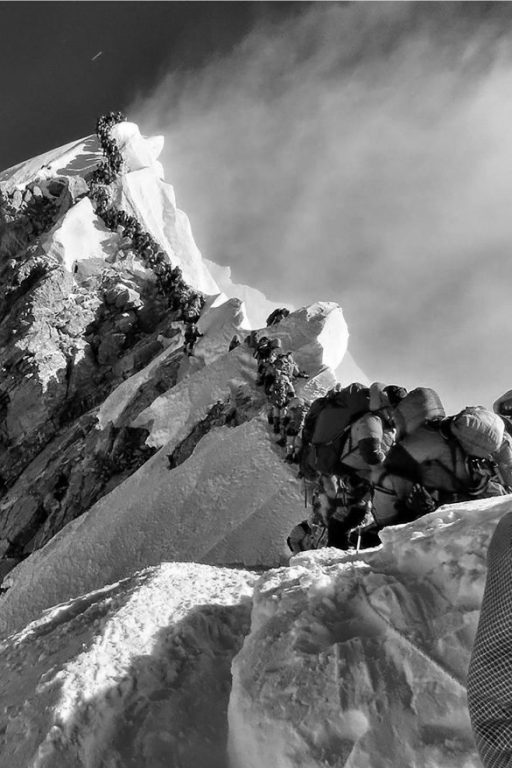Everest Escalada por compromiso
