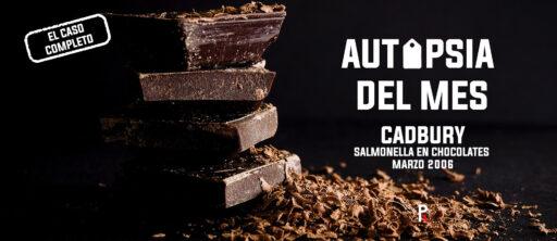 Cadbury: salmonella en chocolates