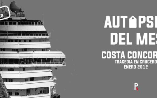 Costa Concordia: tragedia en crucero