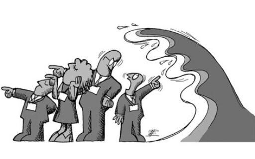 El camuflaje de las crisis